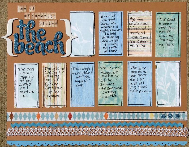 Cindy - the beach