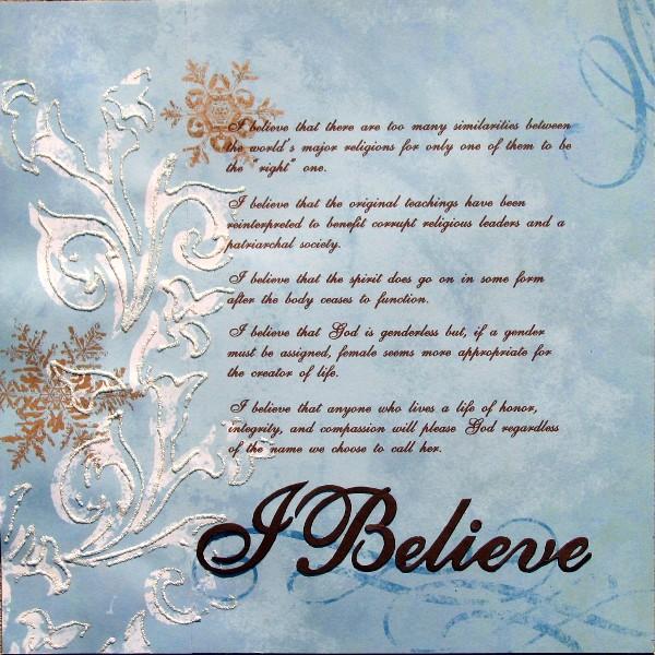 I Believe GM #14