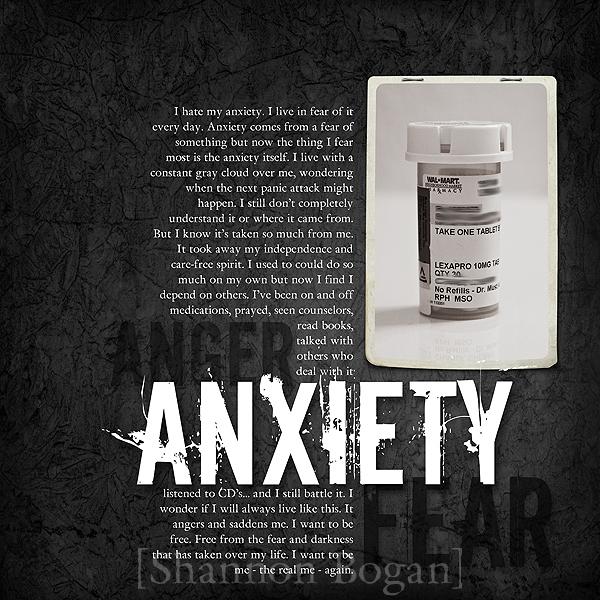 Anxiety web