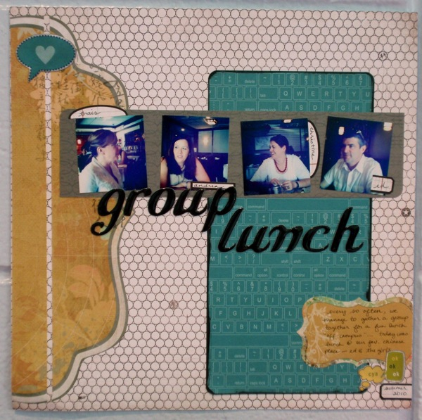 Group lunch main