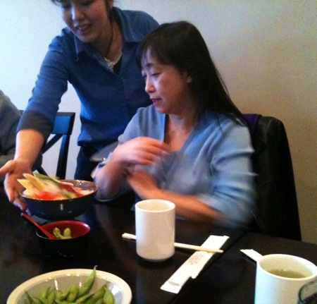Keiko going away lunch 2